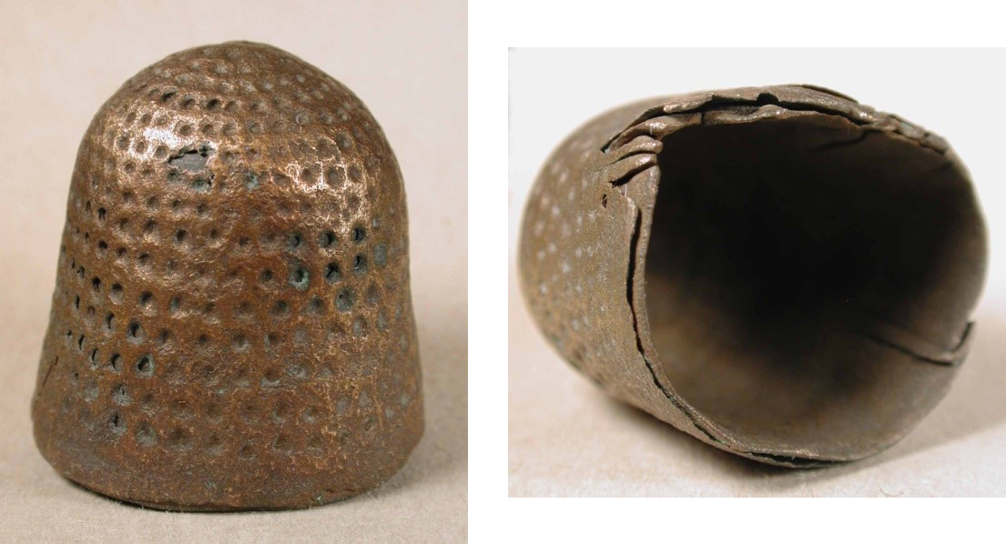 Old Thimbles and the Portable Antiquities Scheme
